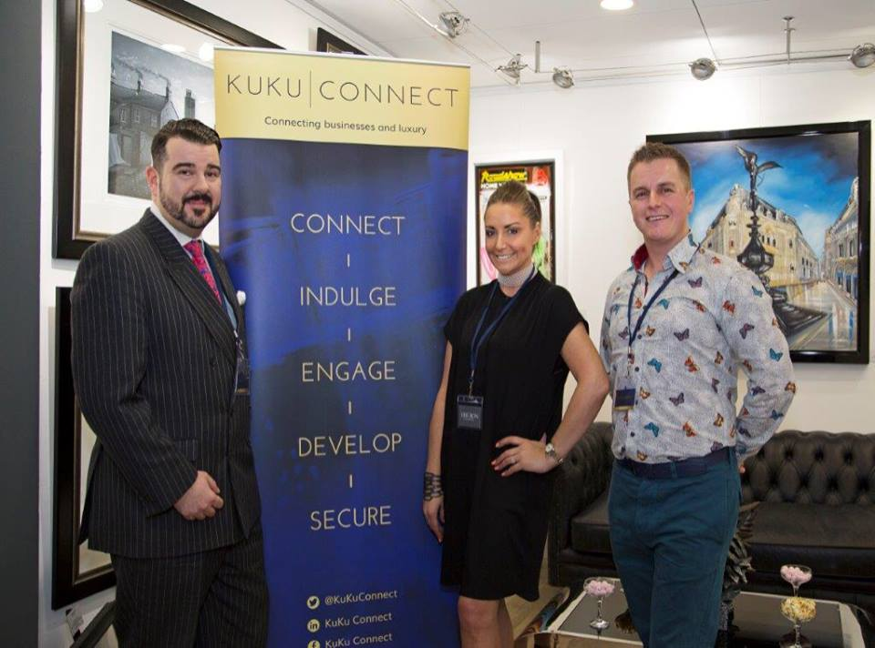 KUKU Connect Hosts fourth reception at Oberon Gallery In Leicester