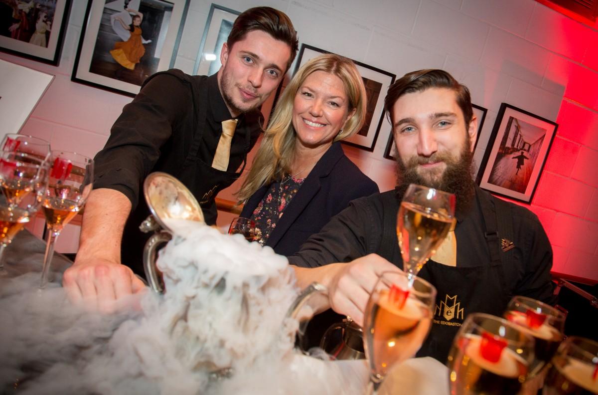 Tony Heap, Jayne OÔÇÖMalley, Luke Pearson - The Edgbaston Boutique Hotel & Cocktail Lounge