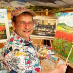 Wacaday Star, Timmy Mallett, Showcases Fine Art Collection At Oberon Gallery.