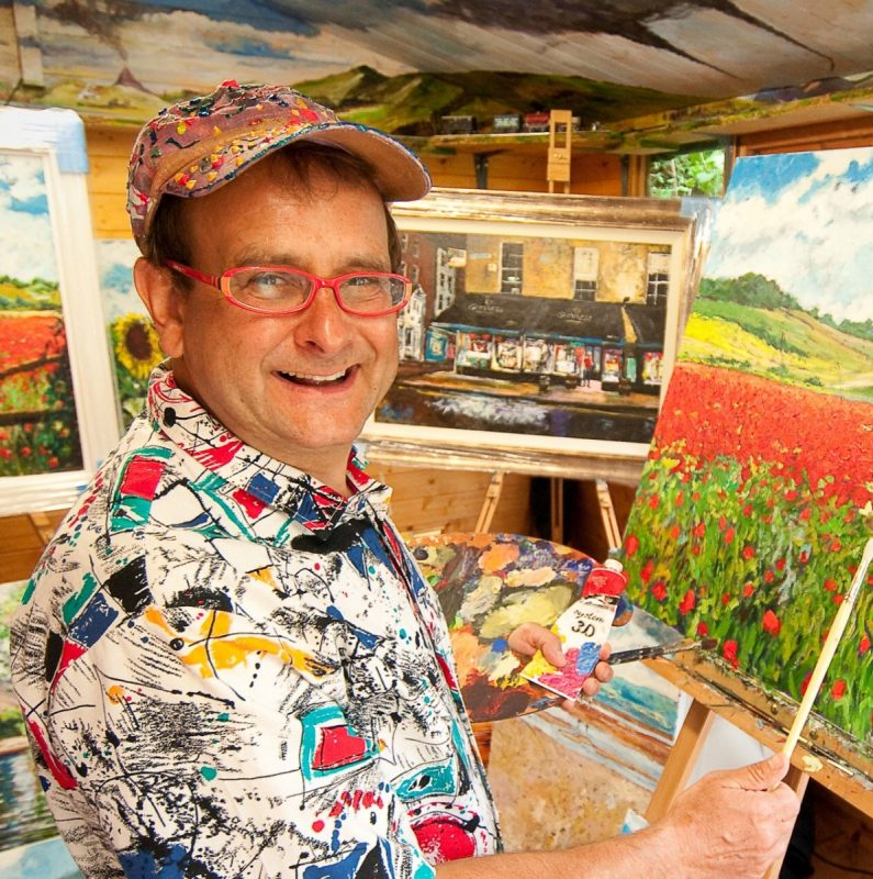 Timmy Mallett to showcase his art at Oberon Gallery, Leicester.