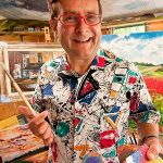 TV's Timmy Mallett To Showcase His Art At The Oberon
