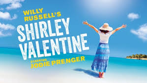 Jodie Prenger stars as Shirley Valentine by Willy Russell
