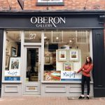 For The Love Of Art…. Up Close & Personal With Donna Marie Cross, Owner of Oberon Gallery.