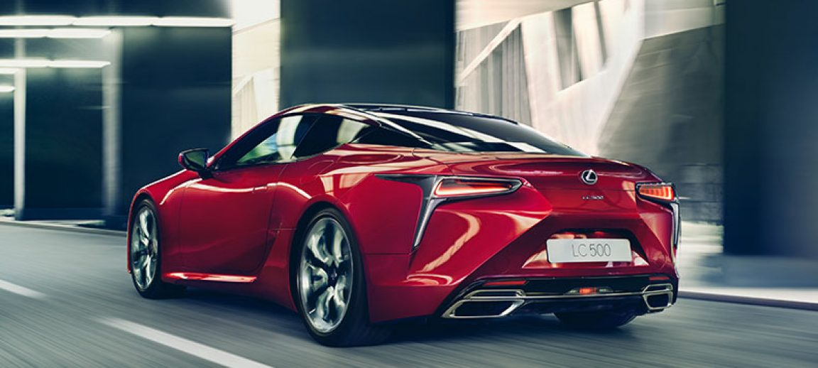 The All New Lexus LC Coupe - A New Era Dawns - Dluxe Magazine
