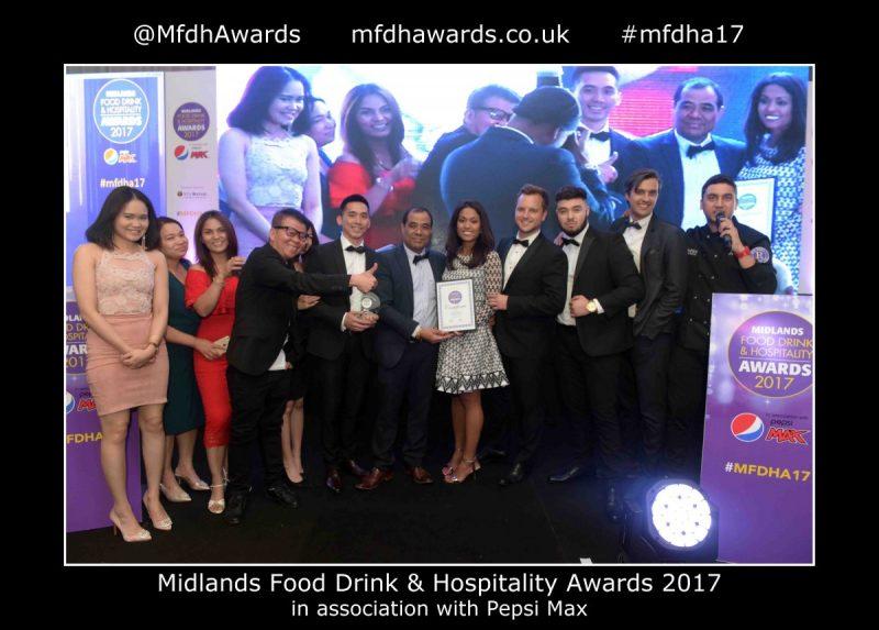 Sabai Sabai Do The Double At The Midlands Food, Drink and Hospitality Awards