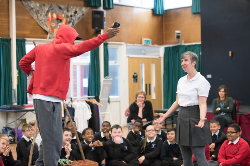Belgrade Theatre Goes Back To School With Theatre-in-Education Show.