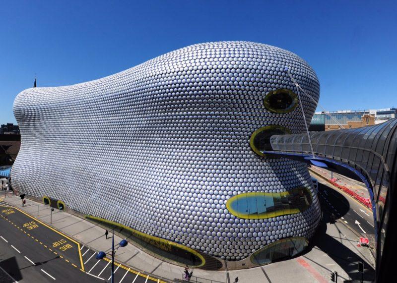 Selfridges Birmingham invites customers to unwind in their window.