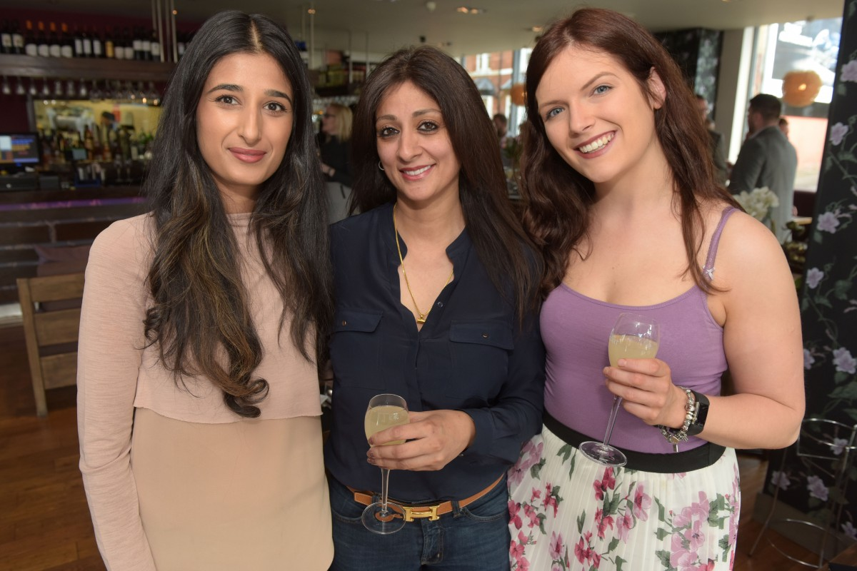 Simran Bansal, Ami Chatha, Zoe Smith