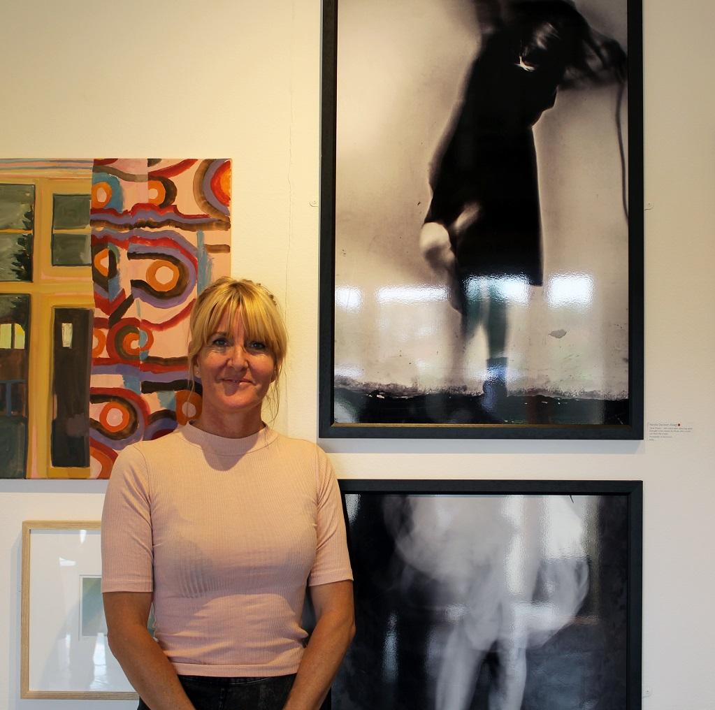 Winner of The School of Artisan Food prize, Nicola Davison-Reed, with her work