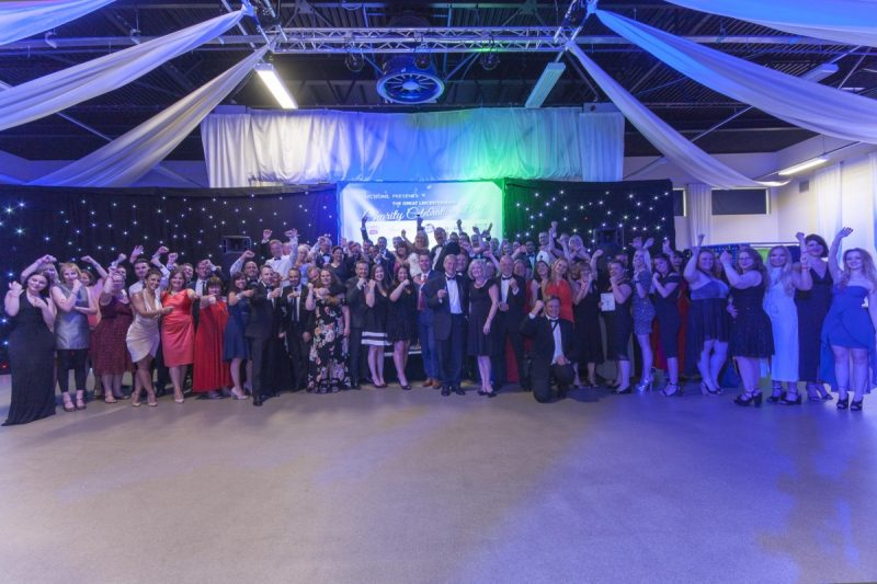 Charity Ball raises over £3,000 for TEN local charities