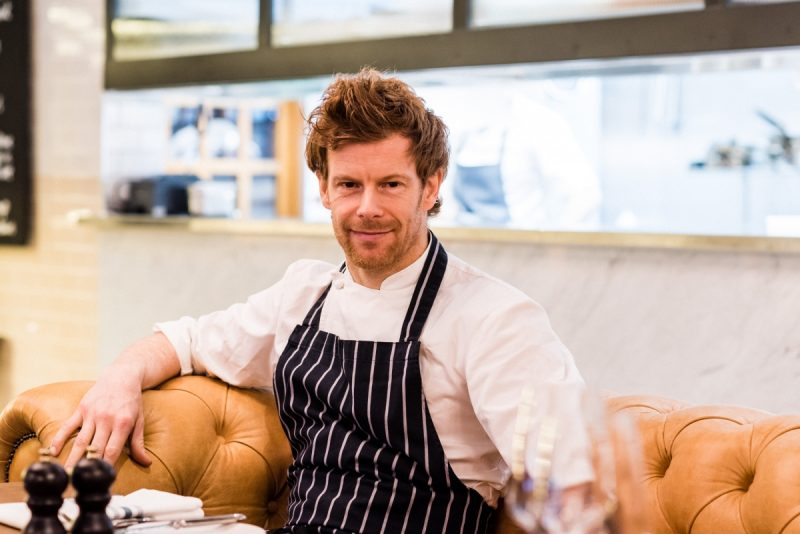 INTERVIEW: Tom Aikens, Owner of the Mailbox's Tom's Kitchen.