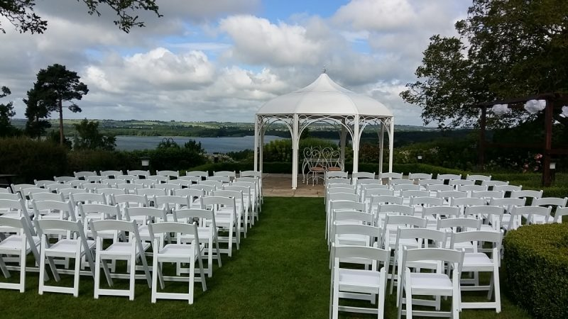 The Wedding Pavilion at Barnsdale Hall