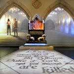 """Murder, Mystery and Mayhem"" at King Richard III Visitor Centre."