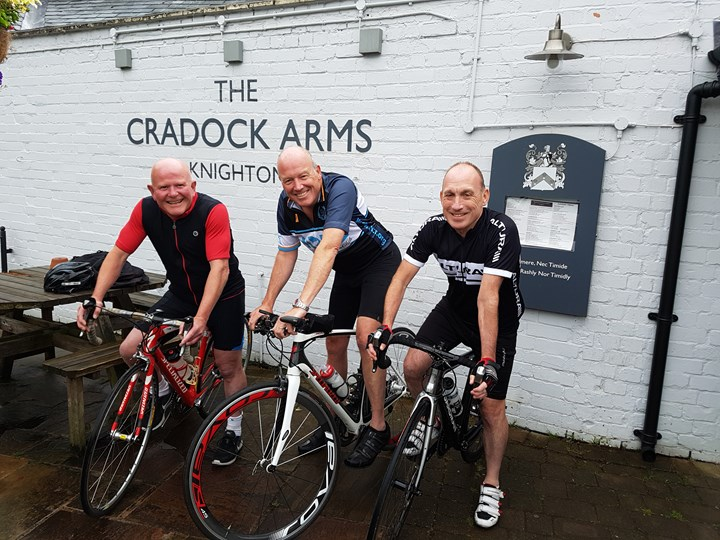 The Cradock Arms ride for Hope Against Cancer