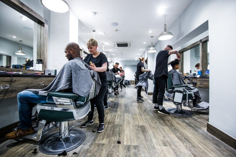 Solihull's Mell Square sees Launch of Everyman Barbers
