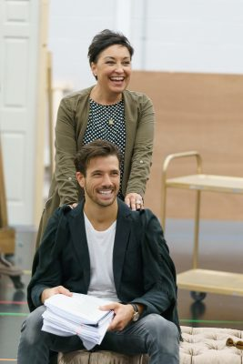 Ria Jones and Danny Mac In Andrew Lloyd Webber's Sunset Boulevard at Curve