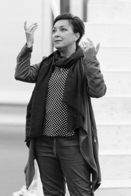 Ria Jones In Andrew Lloyd Webber's Sunset Boulevard at Curve