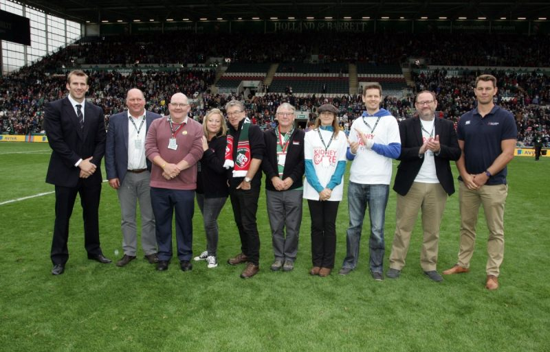 Leicester Tigers introduce charity partners for 2017/18