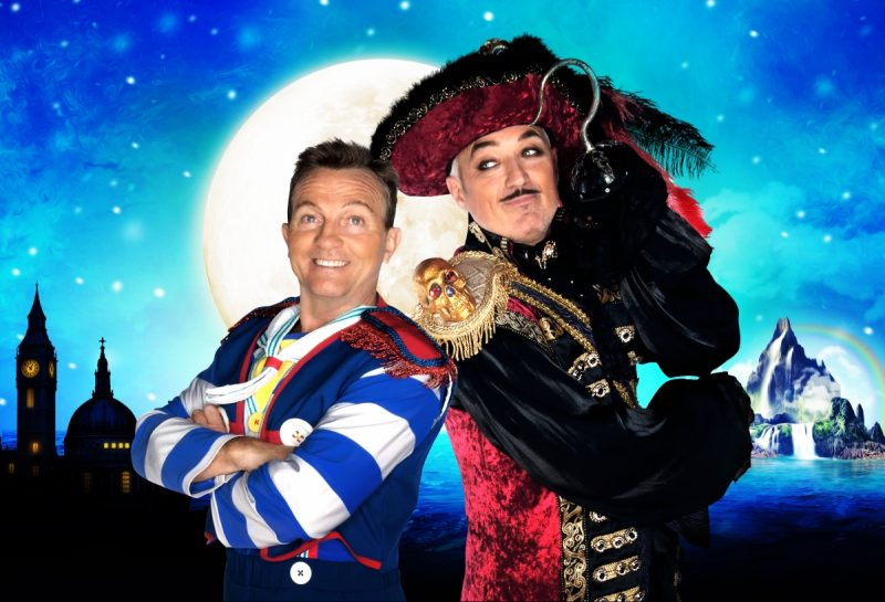 Comedy legend, actor and presenter Bradley Walsh and the fearsomely attractive Spandau Ballet, EastEnder, and 'Let It Shine' judge Martin Kemp will be headliningThe World's Biggest Pantomime production of Peter Pan-Christmas in Neverland from 20-24 December at Arena Birmingham