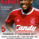 LIVERPOOL LEGEND JOHN BARNES HEADING TO COVENTRY