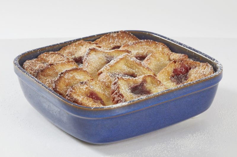 Nadiya Hussain's Doughnut Bread Pudding Recipe