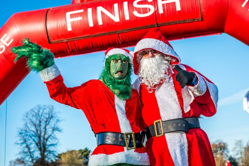 Dash into the festive spirit with charity's Jingle Bell Jog