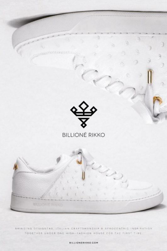 We Meet The founder Of Billione Rikko, The Next Big Brand In Designer Foot Wear.