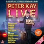 Peter Kay Announces Return To Stand-up With First Live Tour in Eight Years