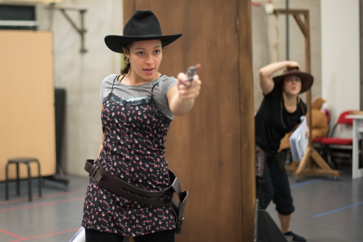 The Good the Bad & the Ugly Sisters Rehearsals