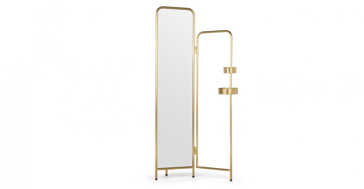 Alana Valet, Brushed Brass,£299, MADE.COM