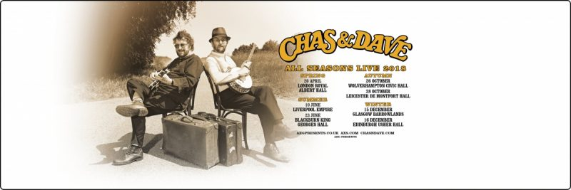 Chas & Dave Announce Special Seasonal Shows