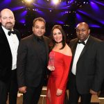 Hotel du Vin win award for Outstanding Customer Service at ABCC Awards
