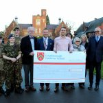 Fundraisers donate £5,000 to Defence and National Rehabilitation Centre
