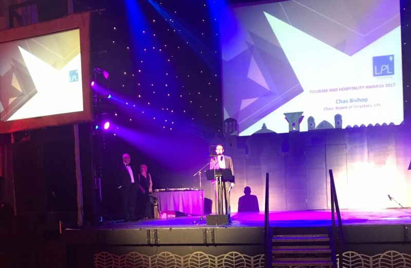 A night of winners at Leicestershire Tourism and Hospitality Awards 2017
