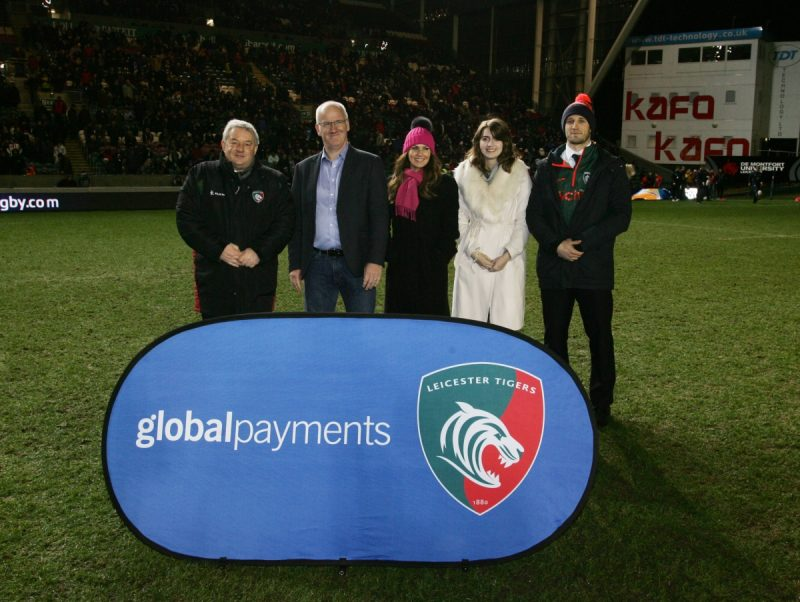 Global Payments join Leicester Tigers as new commercial partner