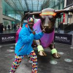 Mr Motivator gets Brummies limbered up for their January shopping