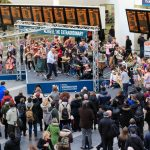 UK's biggest folk band pulls into central railway hub