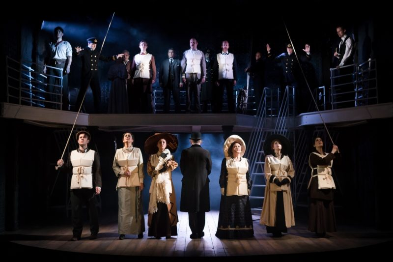 Casting announced for The five-time Tony Award-winning Titanic the Musical