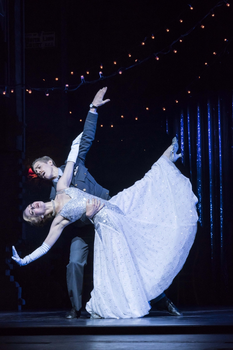 12. MATTHEW BOURNE'S CINDERELLA. Ashley Shaw 'Cinderella' and Andrew Monaghan 'Harry'. Photo by Johan Persson
