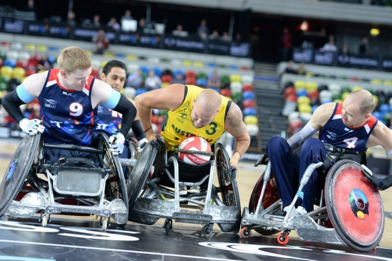 King Power Announced As Title Sponsor For Leicester's Inaugural Wheelchair Rugby Quad Nations Tournament