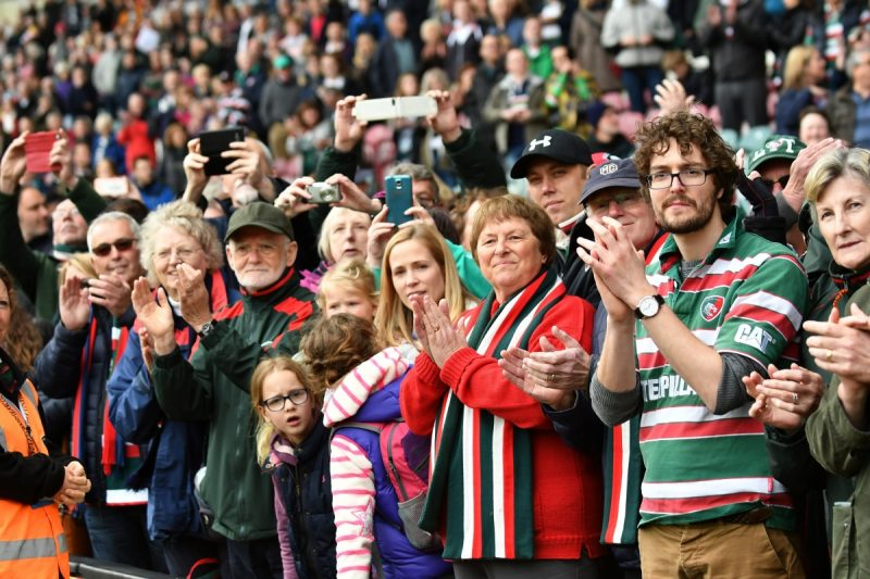 Matchday fun for #TigersFamily at Welford Road