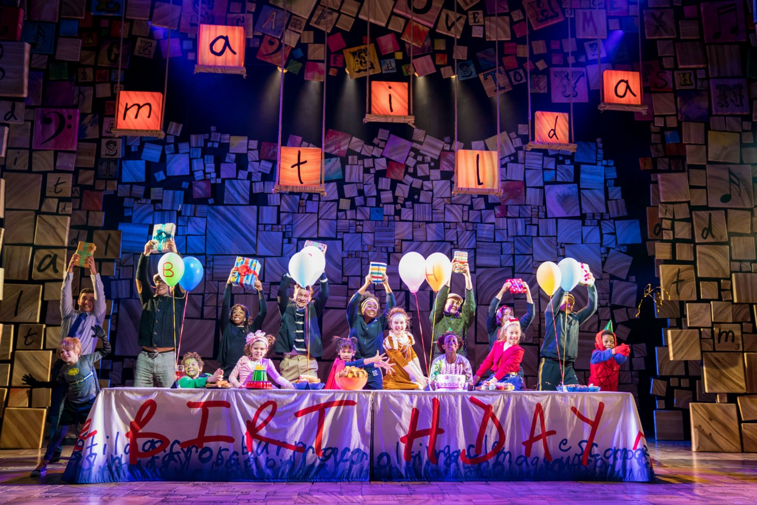 The Royal Shakespeare Company to host first UK and Ireland Tour Relaxed Performance of Matilda The Musical at Birmingham Hippodrome