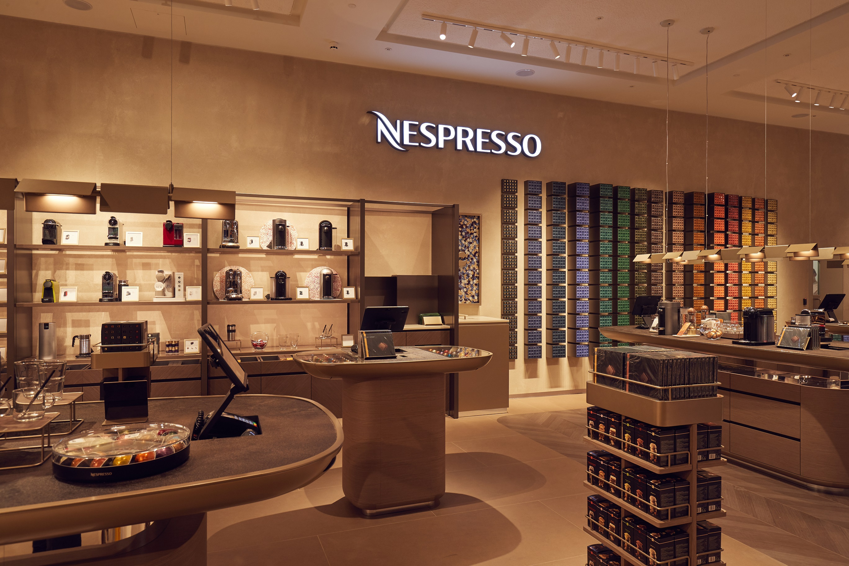 Nespresso Opens New Boutique Concept In Selfridges Birmingham
