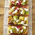 RECIPE: Avocado, Tomato and Pesto Bruschetta