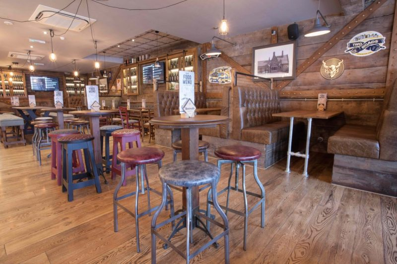 'An idea of how the new bar could look, taken from the new Head Of Steam in Didsbury.
