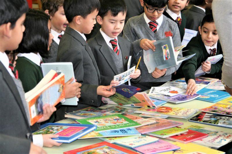 Hallfield School raise cash for Birmingham Children's Hospital