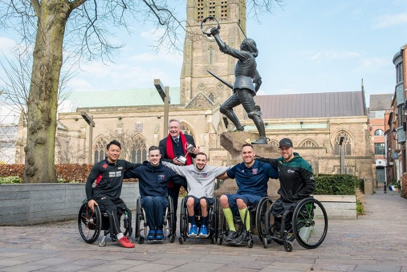 aptains Arrive In The City Of Kings For The King Power Wheelchair Rugby Quad Nations