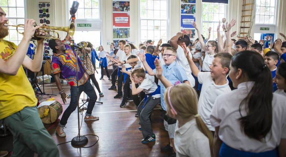 The Spark Arts for Children set to receive almost £280,000 of Arts Council funding