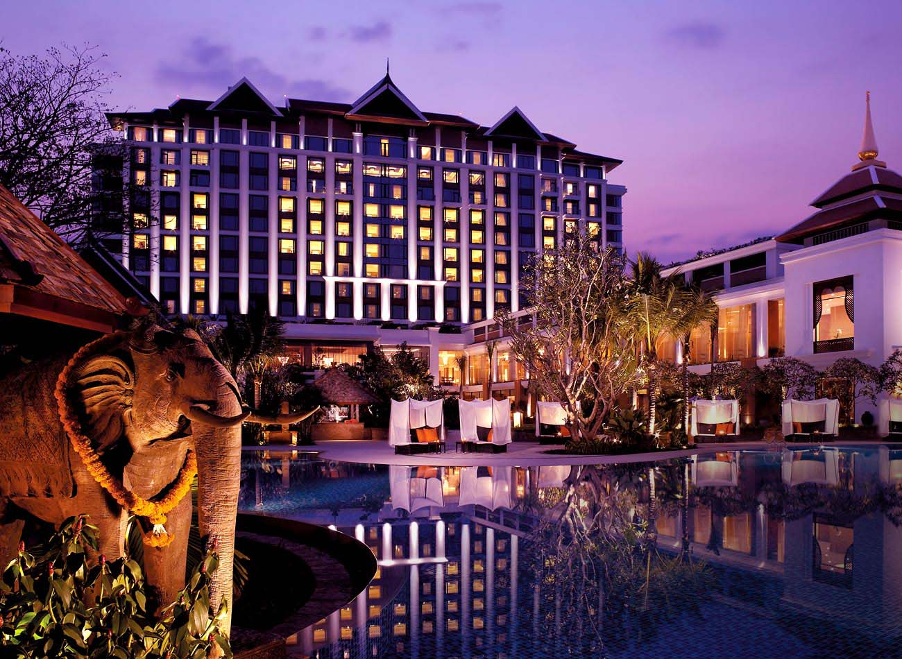 Home From Home In The Heart Of The City: The Shangri-La At Chiang Mai