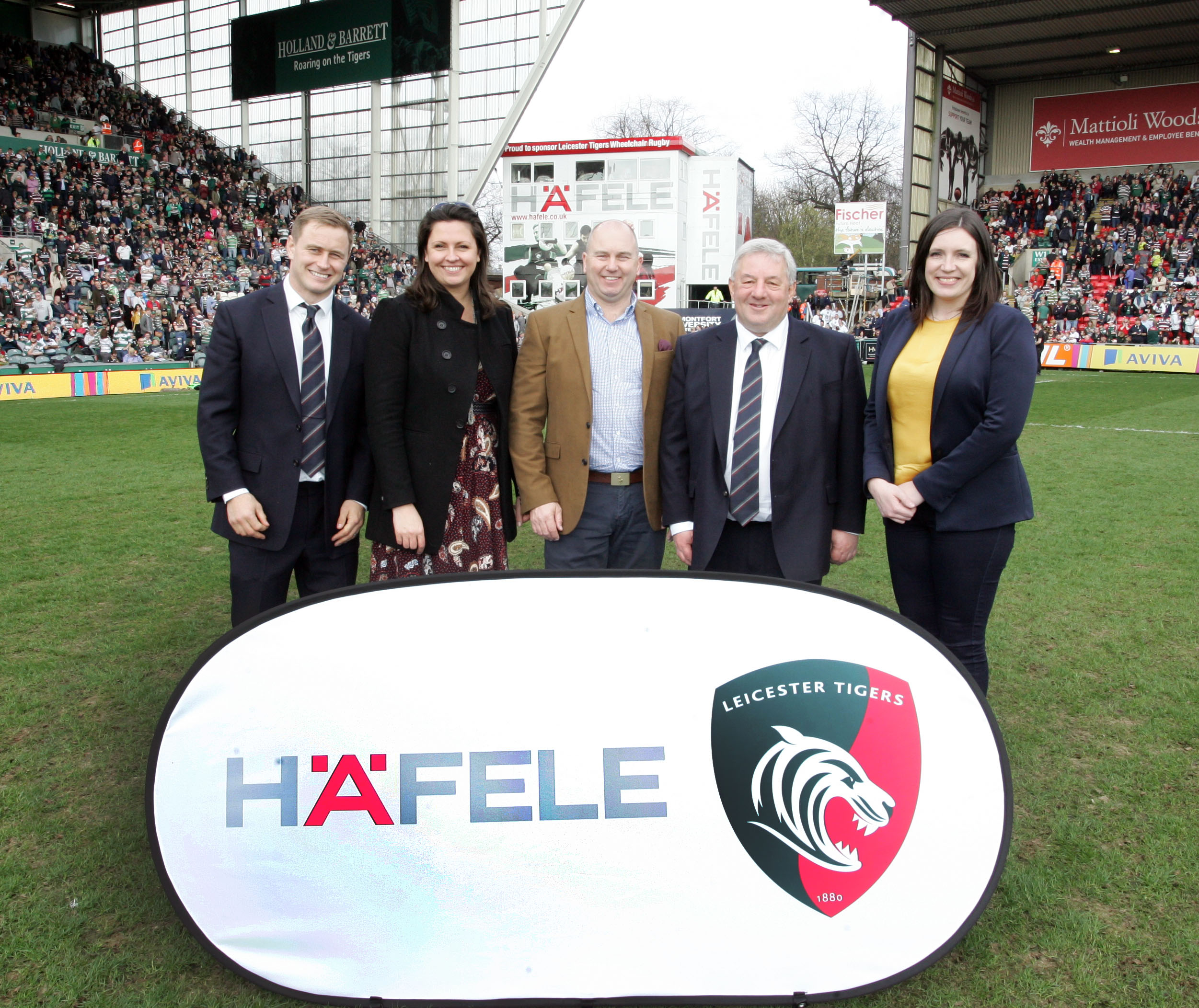 Leicester Tigers and Häfele partnership 'perfect fit'